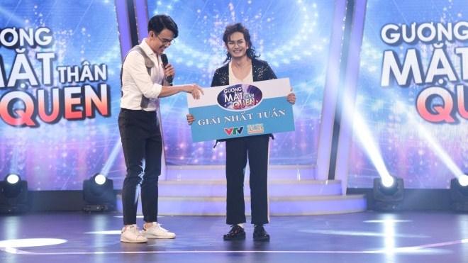 Tập 3 'Gương mặt thân quen': Hùng Thuận ẵm giải nhất tuần bởi quá giống Michael Jackson