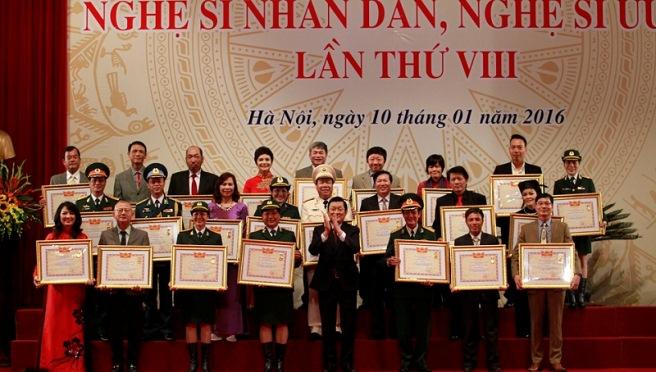 Xem đầy đủ danh sách đề nghị xét tặng danh hiệu NSND, NSƯT lần 9