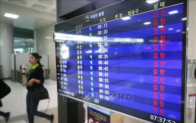 Bão Kong-rey quét qua Hàn Quốc gây thiệt hại nặng nề