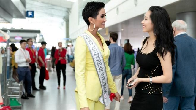 H'Hen Niê lên đường sang Thái Lan thi Miss Universe 2018