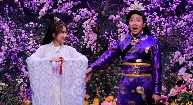 21h15 tối nay, 'Ơn giời cậu đây rồi' tập cuối: Hòa Minzy bị Trấn Thành tát tả tơi