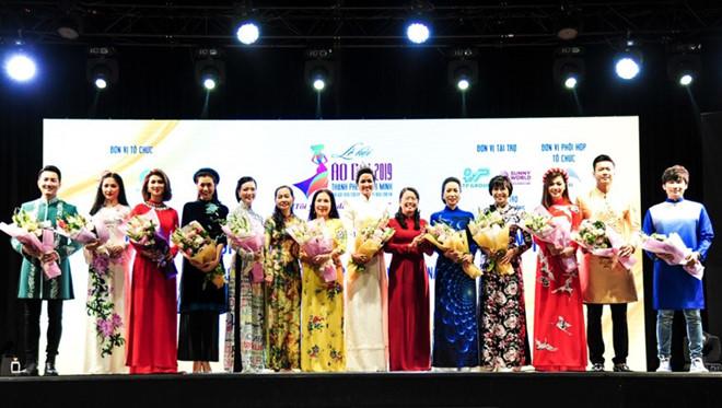 Dàn sao Việt xuất hiện trong đêm khai mạc 'Lễ hội Áo dài' 2019