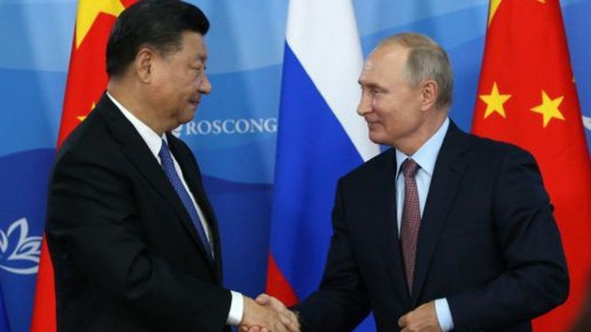Chủ tịch Trung Quốc Tập Cận Bình: Quan hệ Trung-Nga đang ở mức cao nhất