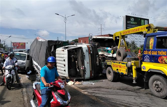 Ngày đầu tiên trong kỳ nghỉ lễ Quốc khánh, 25 người chết vì tai nạn giao thông