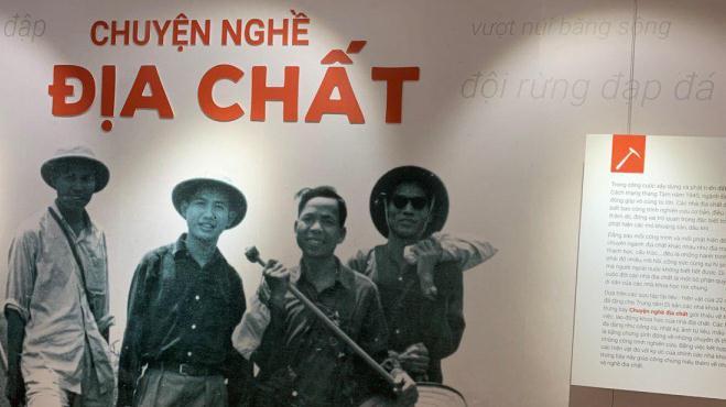 Trưng bày 'Chuyện nghề địa chất' và câu chuyện 'di sản các nhà khoa học' Việt Nam