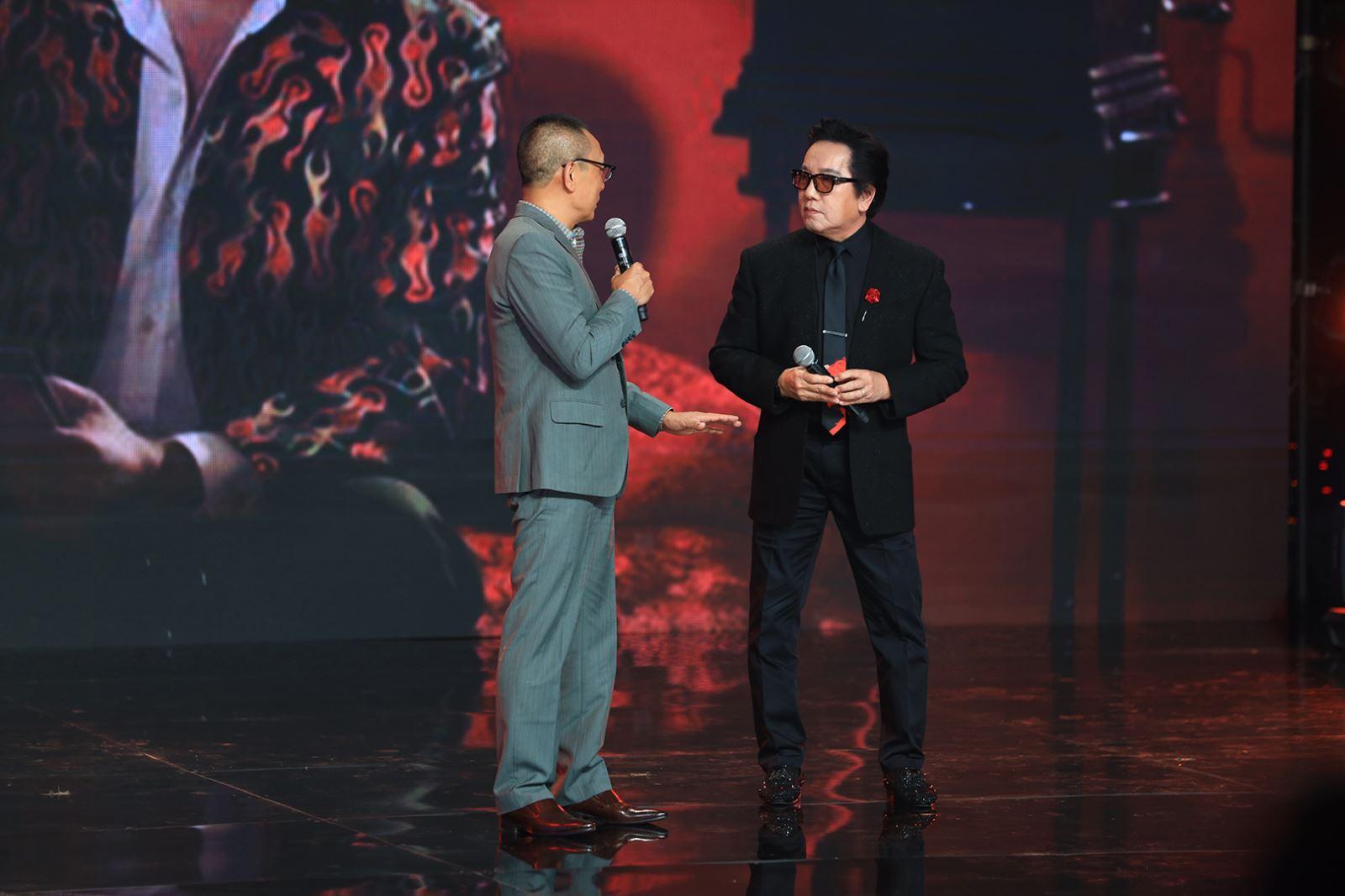 Elvis Phương và MC Lại Văn Sâm