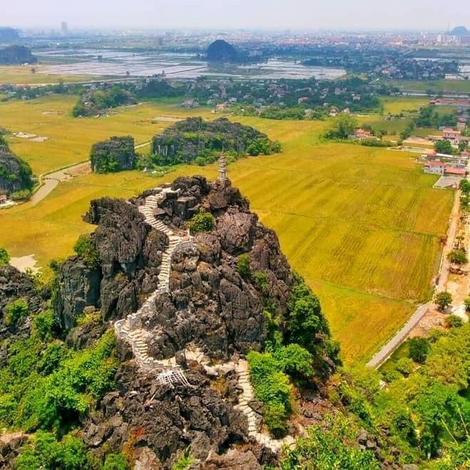 Hang Múa, Ninh Bình, Vạn Lý Trường Thành phiên bản Việt, sống ảo Ninh Bình