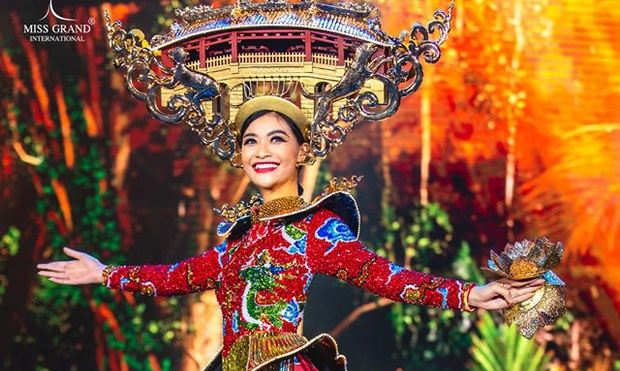 Kiều Loan vào thẳng top 10 chung kết Hoa hậu Hòa bình Quốc tế 2019
