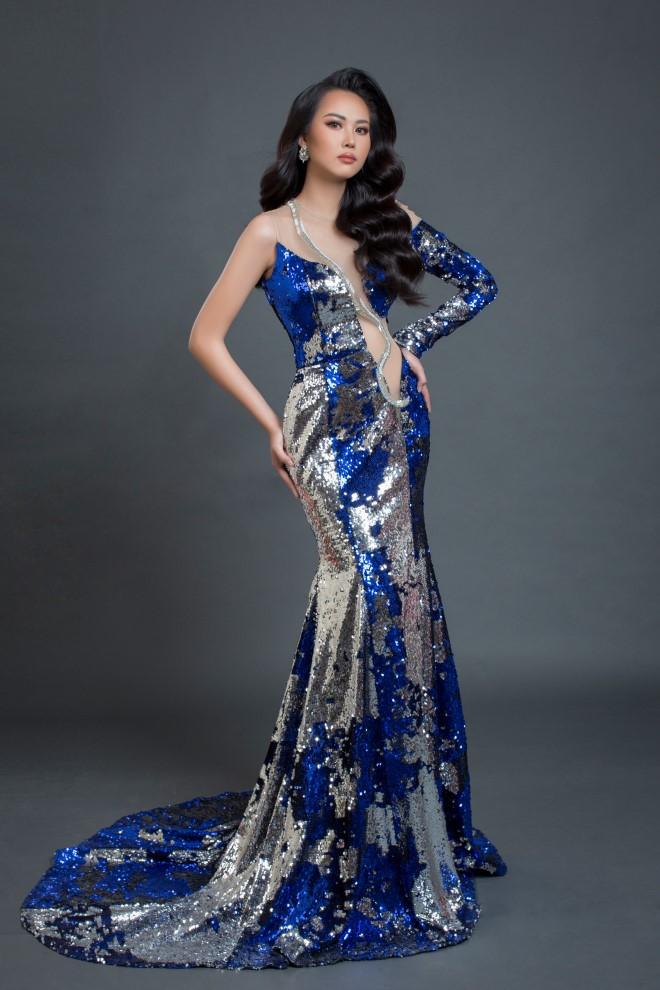 Phương Thanh, Á khôi Người đẹp xứ dừa, Hoa hậu Du lịch Đô thị Quốc tế 2019, đi thi quốc tế, người đẹp, hoa hậu