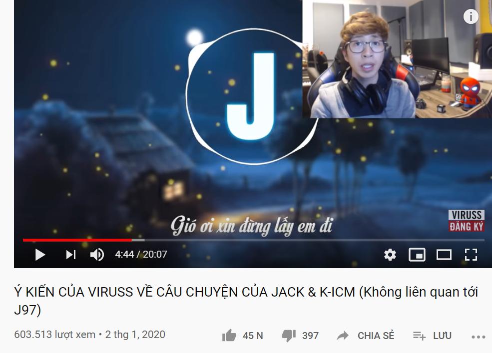 Jack, ViruSs, K-ICM, Jack K-ICM, Jack ViruSs, Đom đóm, J97, jack, Jack J97, jack tin mới, Jack K-ICM tin mới, mẹ jack, mẹ nuôi, kênh của Jack. K-ICM đang đi sai. jack j97