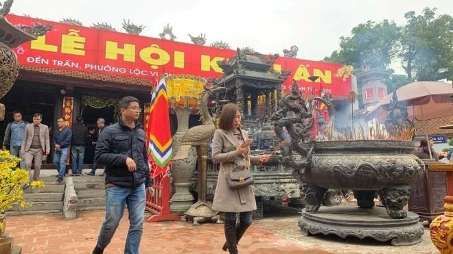 Nam Định dừng tổ chức Lễ hội Khai ấn đền Trần để phòng, chống dịch bệnh corona