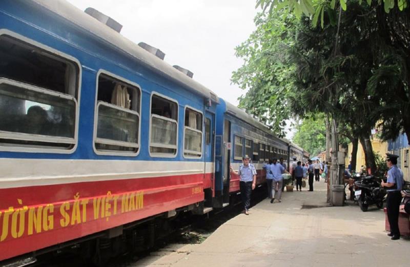 Dịch COVID-19: Từ ngày 30/3, đường sắt dừng chạy hàng ngày tàu Hà Nội - Hải Phòng