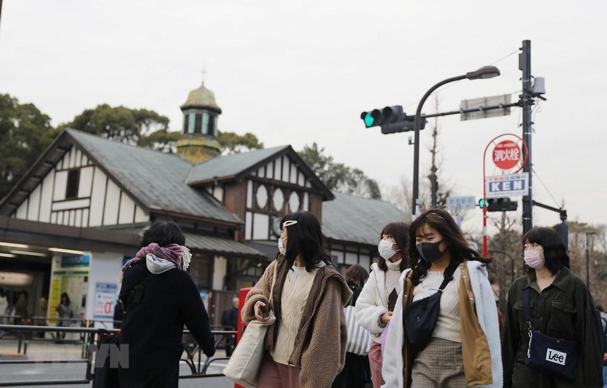 DịchCOVID-19: Nhật Bản số ca nhiễm SARS-CoV-2 tăng lên gần 1.500 ca