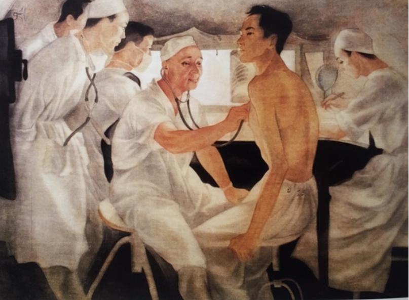 COVID-19, Bảo tàng Mỹ thuật Việt, Anh hùng lao động Phạm Ngọc Thạch, hoạ sĩ Trần Đông Lương, thầy thuốc