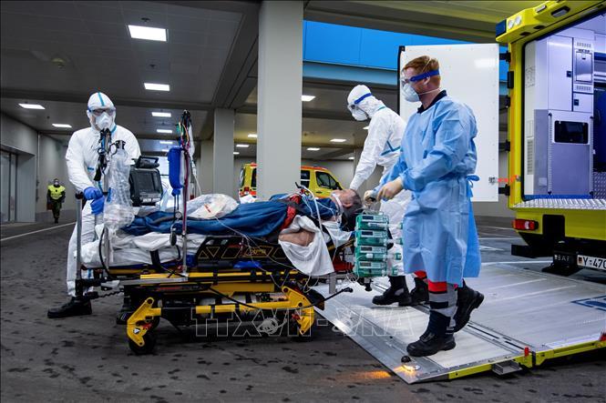 Dịch COVID-19: Số ca mắc bệnh ở Đức tăng thêm 2.821 ca