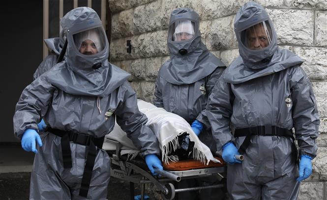 DịchCOVID-19: Số ca tử vong trên toàn thế giới vượt 120.000 người