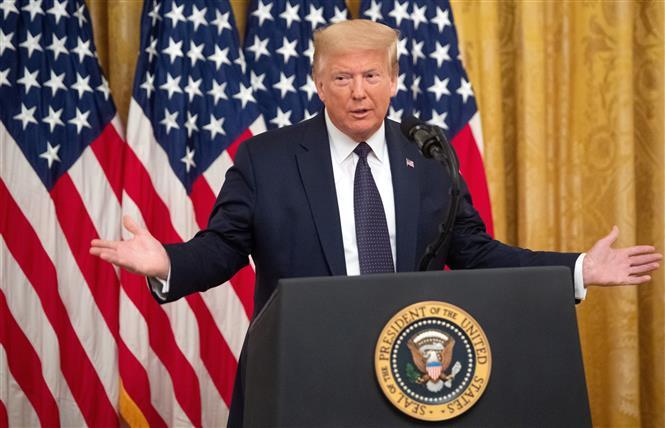 Bầu cử Mỹ 2020: Tổng thống Donald Trump tiếp tục duy trì lợi thế về vận động quỹ tái tranh cử