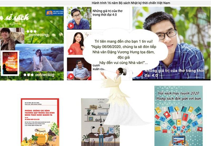 Hội sách trực tuyến quốc gia 2020, thêm hàng ngàn đầu sách mới