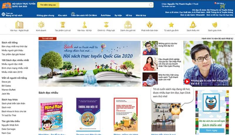 Hội sách trực tuyến quốc gia thêm hàng ngàn đầu sách mới trước ngày kết thúc