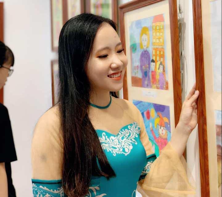 40 họa sĩ nhí triển lãm đam mê trên từng nét vẽ, Họa sĩ Nguyễn Thu Huyền,Trung tâm Nghệ thuật House of Art