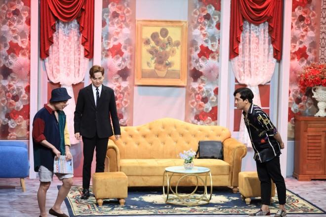 'Ơn giời, cậu đây rồi' tập 8: Trúc Nhân làm trợ diễn, Lynk Lee 'đỏ mặt' khi 'làm vợ' Trường Giang
