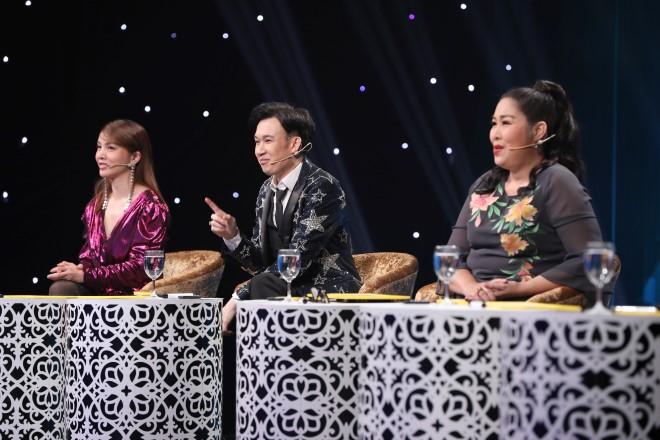 Ca sĩ ẩn danh, Ca sĩ ẩn danh tập 1, VTV3, Bạch Công Khanh, Hồng Vân, ca si an danh, gameshow ca nhạc