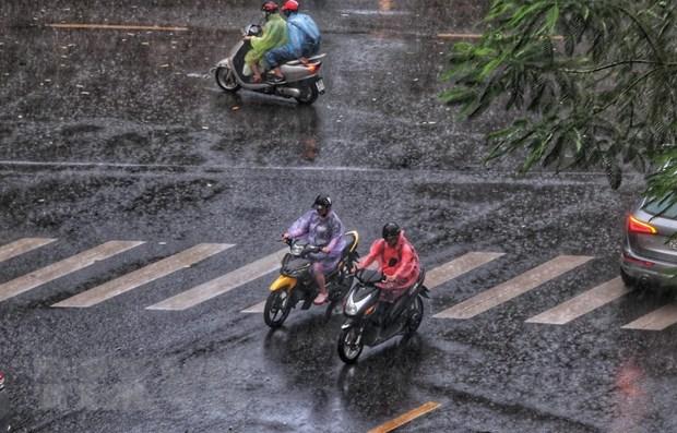 Từ ngày 5-14/11, nhiều khu vực mưa dông, đề phòng thời tiết nguy hiểm