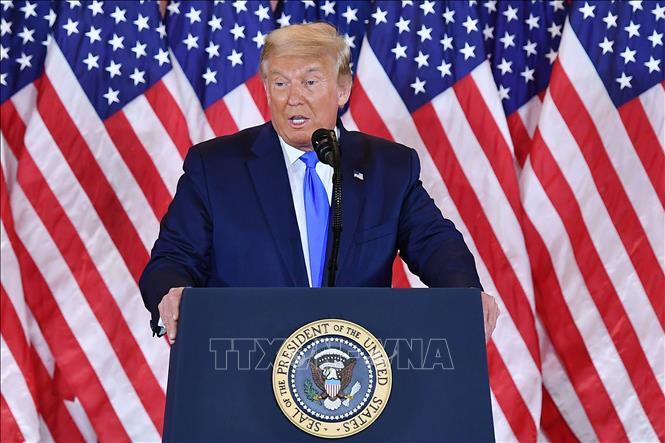 Tổng thống Trump cáo buộc 'các antifan' gây ra vụ bạo loạn tại tòa nhà Quốc hội