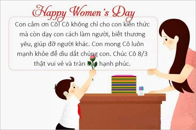 Gợi ý lời chúc 8/3/2021 ngắn gọn, ý nghĩa nhất dành cho phái nữ