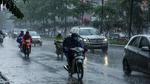 Từ ngày 5-13/4, các khu vực đều có mưa và dông, đề phòng thời tiết nguy hiểm