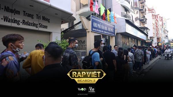 Rap Việt mùa 2 hút hàng ngàn thí sinh đến casting