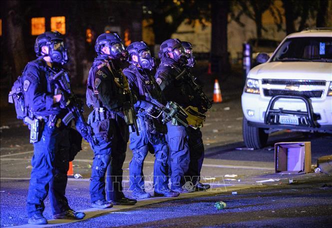 Cảnh sát Mỹ, tình trạng bạo động, Portland