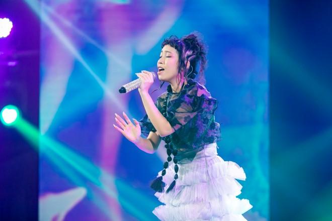 """Thần tượng đối thần tượng: Mỹ Anh hát ca khúc tự sáng tác được Nguyễn Hải Phong gọi là 'quái kiệt"""""""