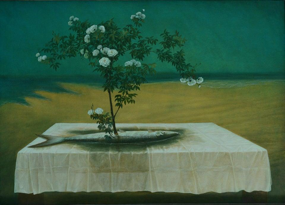 Cây đời mãi xanh, triển lãm tranh, mùa dịch, gây quỹ