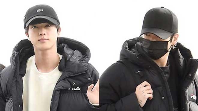 BTS xuất hiện sau world tour, phản ứng lạ của em út Jungkook khiến ARMY bồn chồn