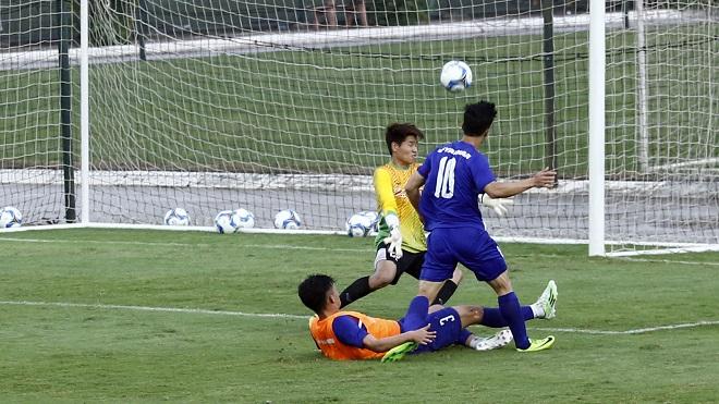 Công Phượng bỏ lỡ cơ hội, lứa U20 ghi bàn trong buổi đấu tập của U22 Việt Nam