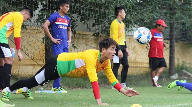 Thủ môn U22 Việt Nam được huấn luyện theo kiểu 'độc' và 'lạ'