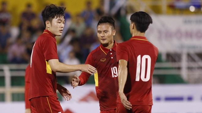 Highlights U22 Việt Nam 1-2 U22 Hàn Quốc: Công Phượng đơn độc