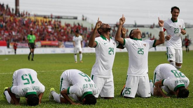 U22 Indonesia vượt qua U22 Việt Nam trên bảng xếp hạng