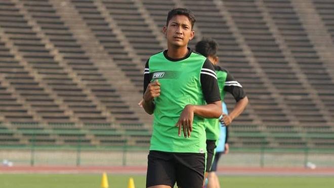 U22 Campuchia mang cầu thủ giống Văn Thanh đến SEA Games 29