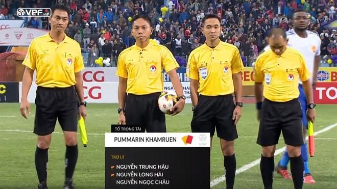 Trọng tài trận Hà Nội – Quảng Nam bị bắt vì liên quan đến dàn xếp tỷ số