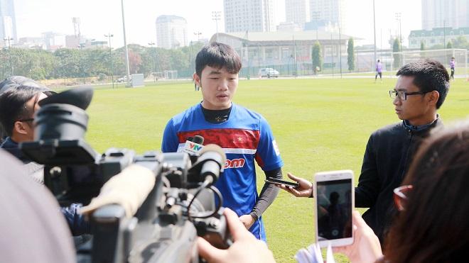 Xuân Trường nói gì trước ngày U23 Việt Nam sang Trung Quốc?