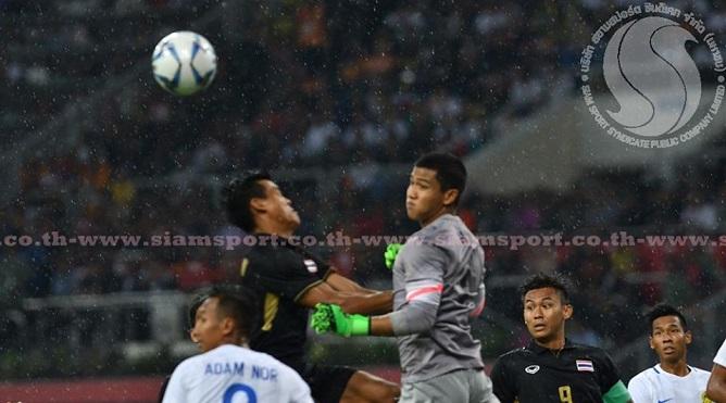 Video: Thủ môn U22 Malaysia đấm bóng về lưới nhà, dâng bàn thắng cho U22 Thái Lan