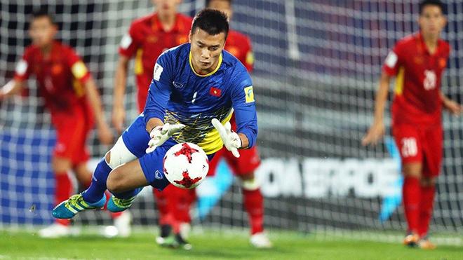 Bùi Tiến Dũng đầy bản lĩnh, bắt gọn quả penalty kiểu panenka của U23 Hàn Quốc
