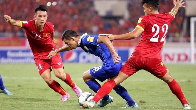 Thái Lan xếp trên Việt Nam trong phân loại hạt giống Asian Cup 2019, tại sao?