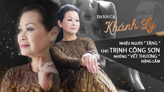 Khánh Ly: Nhiều người 'tặng' cho Trịnh Công sơn những 'vết thương' nặng lắm!