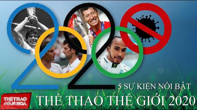 TOP 5 sự kiện thể thao quốc tế nổi bật của năm 2020