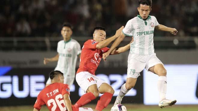 VIDEO bàn thắng Hà Tĩnh 1-1 Bình Định: Thoát vị trí cuối bảng