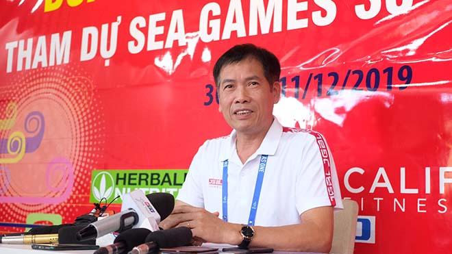 Trưởng đoàn Trần Đức Phấn: 'Cờ vua và bóng chuyền nam không thành công, U22 Việt Nam sẽ chiến thắng'