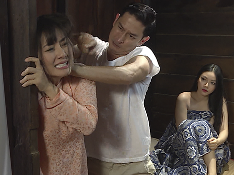 'Luật trời' tập 6: Em gái làm vợ lẻ chủ điền, Ngọc Lan tìm cách phá hoại hạnh phúc
